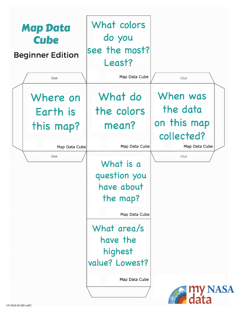 Data Literacy Cube:  Beginner Map Data