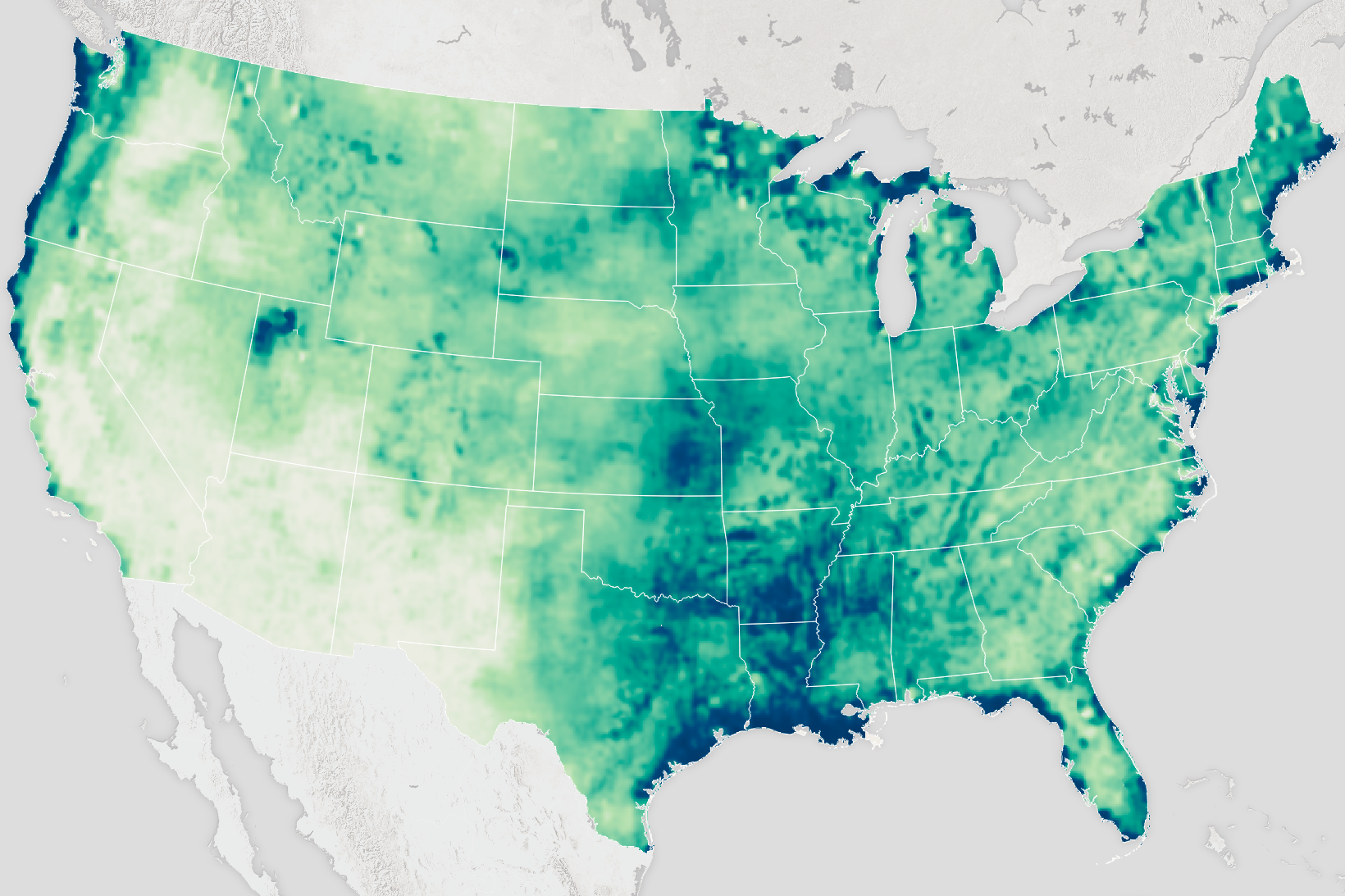 Soil Moisture in US