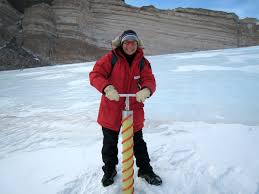 SCIENCE: Glaciologist