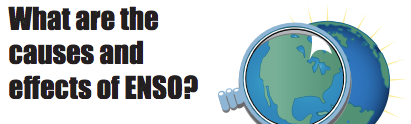 What are the causes and effects of ENSO?