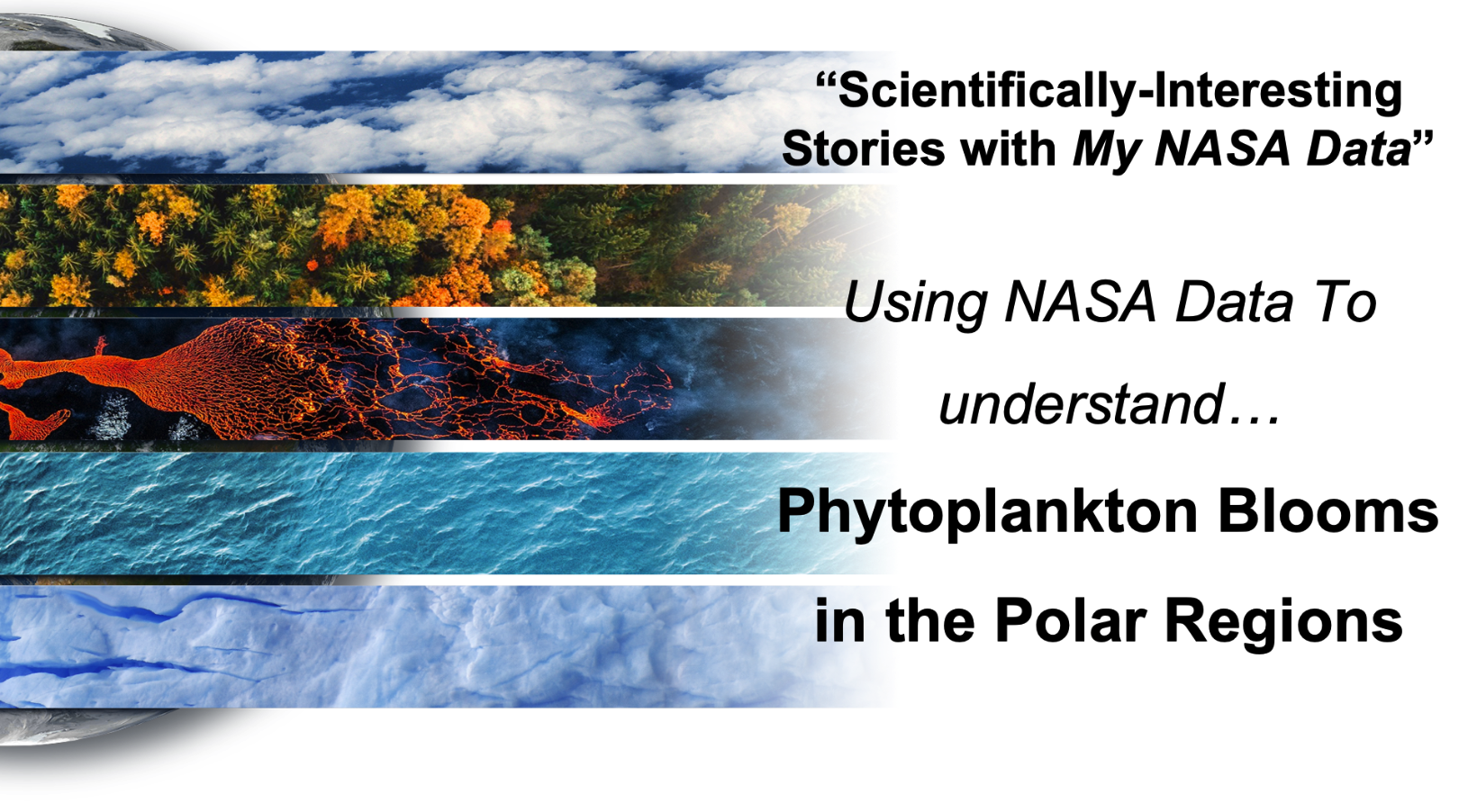 Scientifically-Interesting Storyline of Phytoplankton Blooms in the Polar Regions