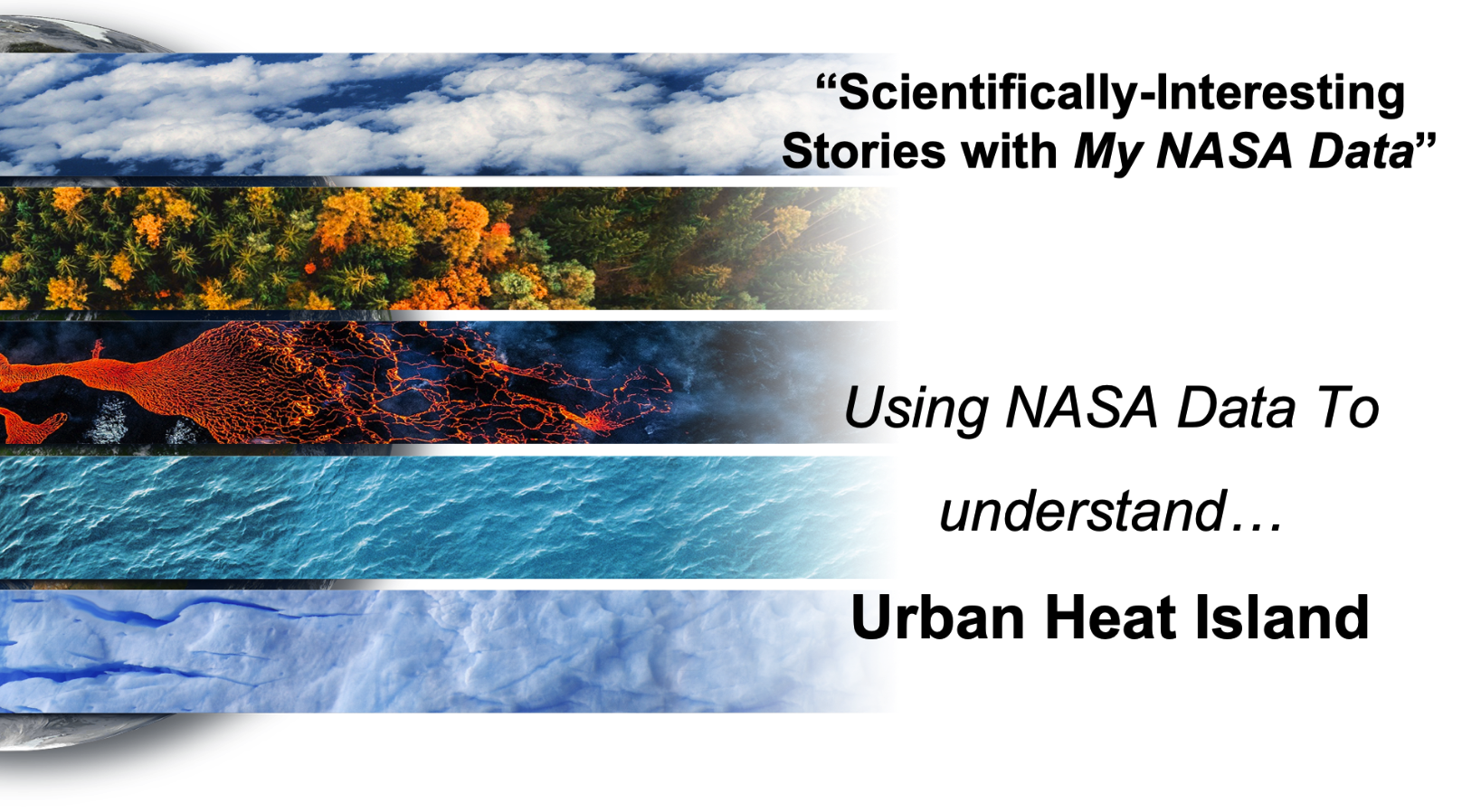 Scientifically-Interesting Storyline of Urban Heat Island
