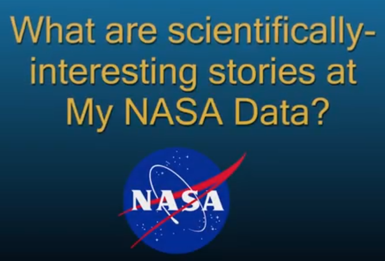 What are Scientifically-Interesting Stories?