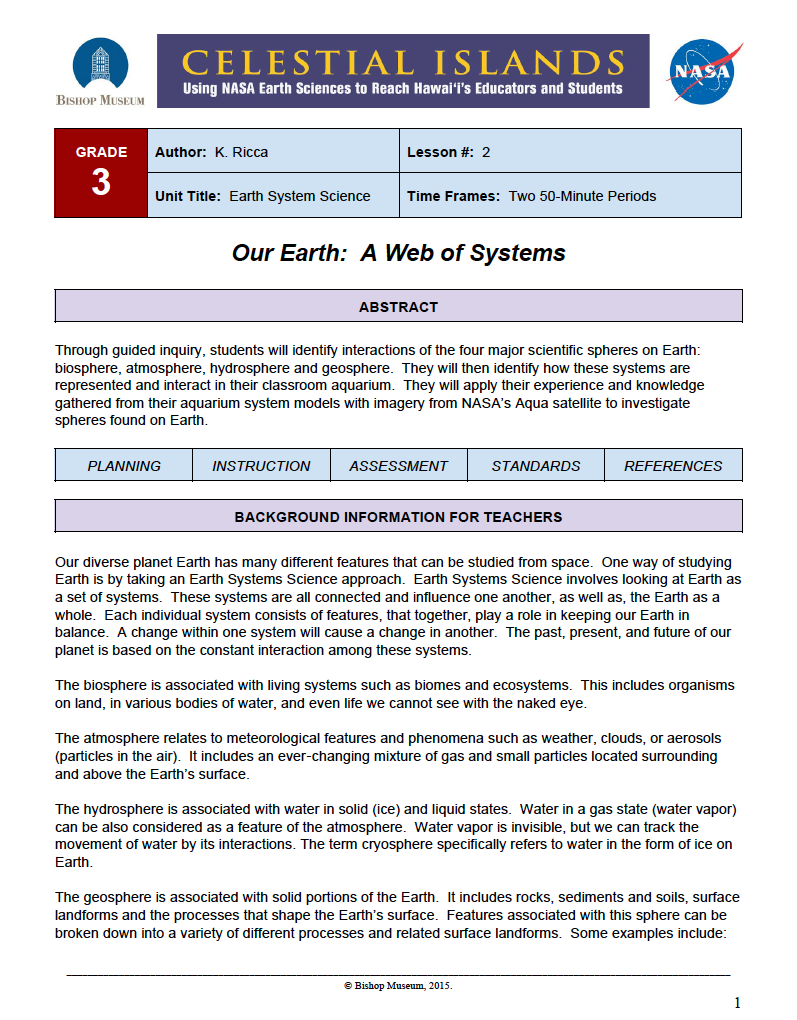 What Is Earth System Science?