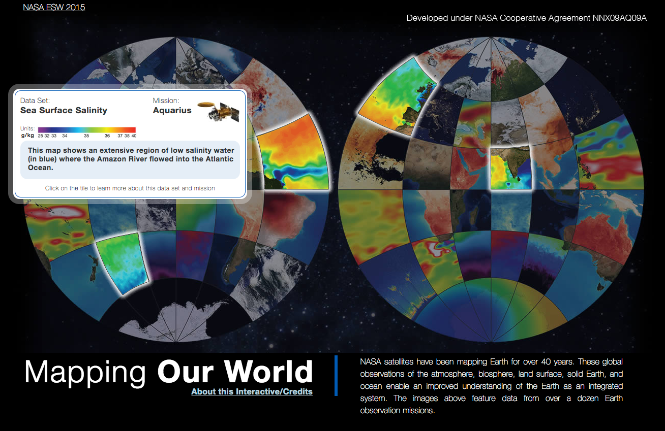 Mapping Our World Interactive