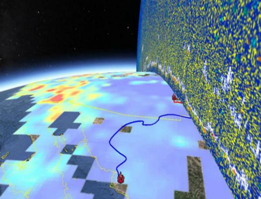 GIS Image. Credit: NASA DEVELOP