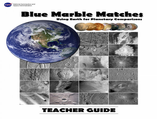 Blue Marble Matches: Using Earth for Planetary Comparisons