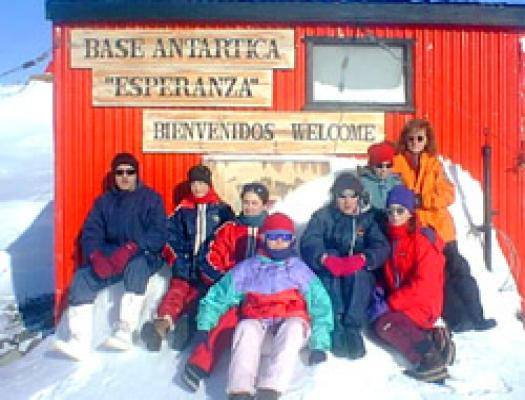 GLOBE Students in Antarctica