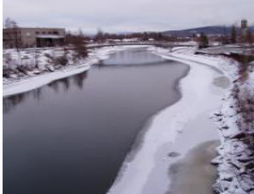 Fresh Water Ice Phenology River Image